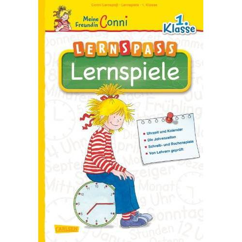 Hanna Sörensen - Conni Lernspaß Lernspiele 1.Klasse - Preis vom 10.05.2021 04:48:42 h
