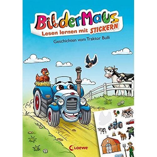 THiLO - Bildermaus - Lesen lernen mit Stickern - Geschichten vom Traktor Bulli - Preis vom 05.09.2020 04:49:05 h