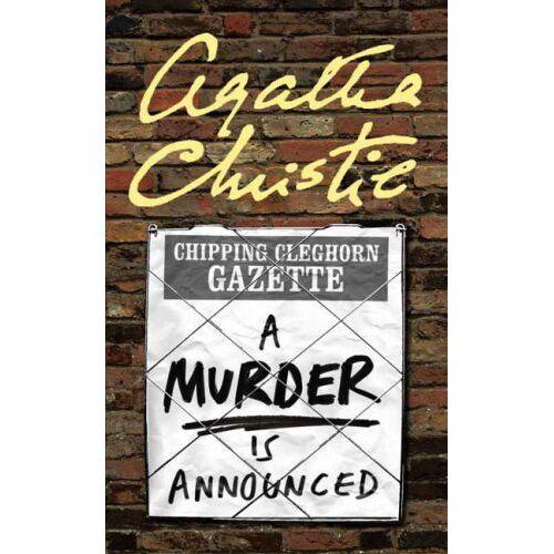 Agatha Christie - A Murder is Announced. (Miss Marple). (Miss Marple) - Preis vom 16.04.2021 04:54:32 h