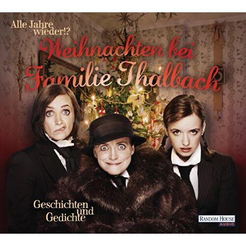 Various - Alle Jahre wieder!? Weihnachten bei Familie Thalbach.: Geschichten und Gedichte - Preis vom 06.05.2021 04:54:26 h