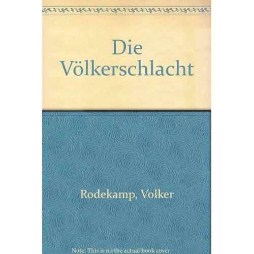 Volker Rodekamp - Völkerschlacht - Preis vom 05.09.2020 04:49:05 h