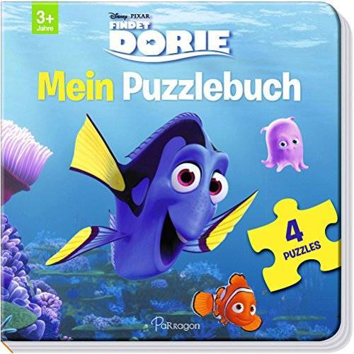 Disney Pixar Findet Dorie: Mein Puzzlebuch: Mit 4 Puzzles zu je 12 Teilen - Preis vom 05.05.2021 04:54:13 h