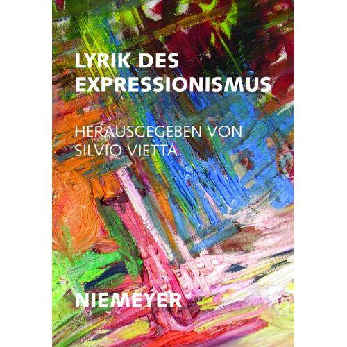 Silvio Vietta - Lyrik des Expressionismus - Preis vom 11.05.2021 04:49:30 h