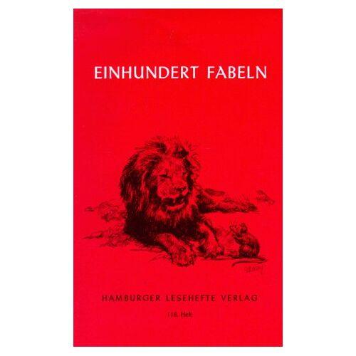- Hundert Fabeln: Von der Antike bis zur Gegenwart - Preis vom 18.04.2021 04:52:10 h