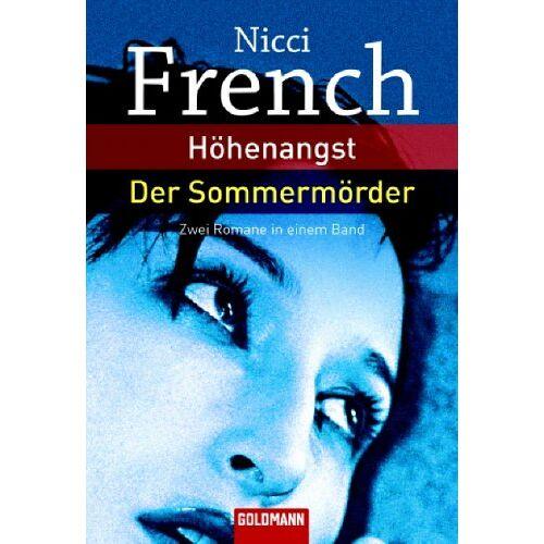Nicci French - Höhenangst / Der Sommermörder. Zwei Romane in einem Band - Preis vom 02.06.2020 05:03:09 h