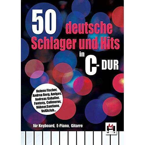 Bosworth Music - 50 deutsche Schlager und Hits in C-Dur: für Keyboard, E-Piano, Gitarre - Preis vom 17.04.2021 04:51:59 h