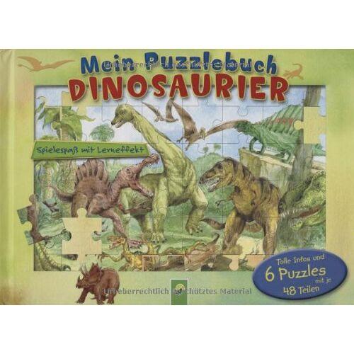 Oliver Bieber - Mein Puzzlebuch Dinosaurier: Spielspass mit Lerneffekt - Preis vom 18.04.2021 04:52:10 h