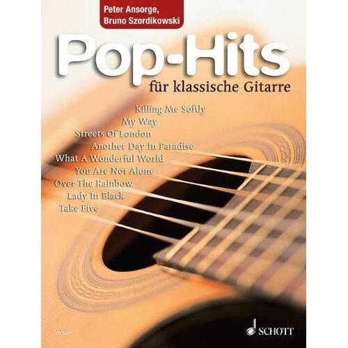 Bruno Szordikowski - Pop-Hits für klassische Gitarre: 23 beliebte Songs von Elvis bis Phil Collins. Gitarre. - Preis vom 05.09.2020 04:49:05 h