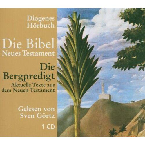 Sven Görtz - Die Bibel. Die Bergpredigt. CD - Preis vom 21.10.2020 04:49:09 h