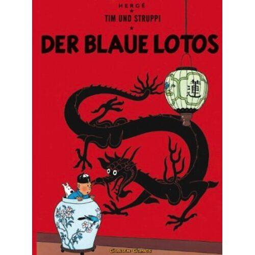 Hergé - Tim und Struppi Band 4: Der blaue Lotos - Preis vom 11.05.2021 04:49:30 h