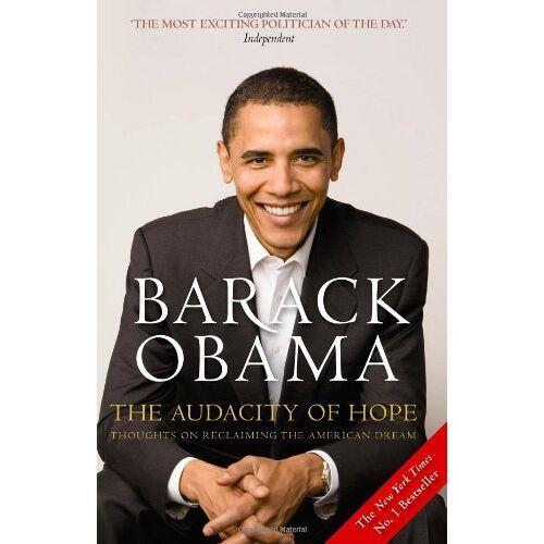 Barack Obama - The Audacity of Hope - Preis vom 13.05.2021 04:51:36 h