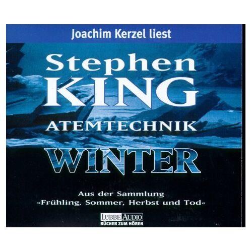 Stephen King - Atemtechnik Winter. 3 CDs - Preis vom 20.10.2020 04:55:35 h
