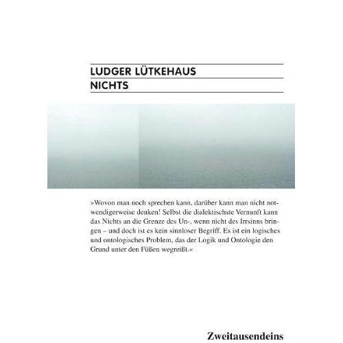 Ludger Lütkehaus - Nichts - Preis vom 20.10.2020 04:55:35 h