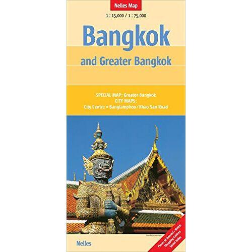 Günter Nelles - Bangkok and Greater Bangkok: 1:15.000/1:75.000 (Nelles) - Preis vom 20.10.2020 04:55:35 h