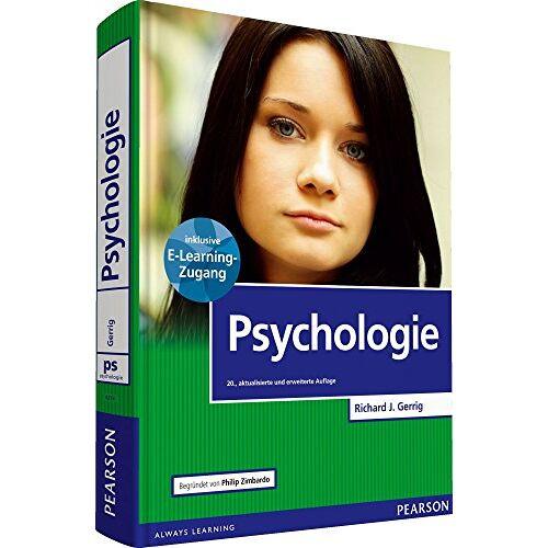 Gerrig, Richard J. - Psychologie mit E-Learning MyLab   Psychologie (Pearson Studium - Psychologie) - Preis vom 11.05.2021 04:49:30 h
