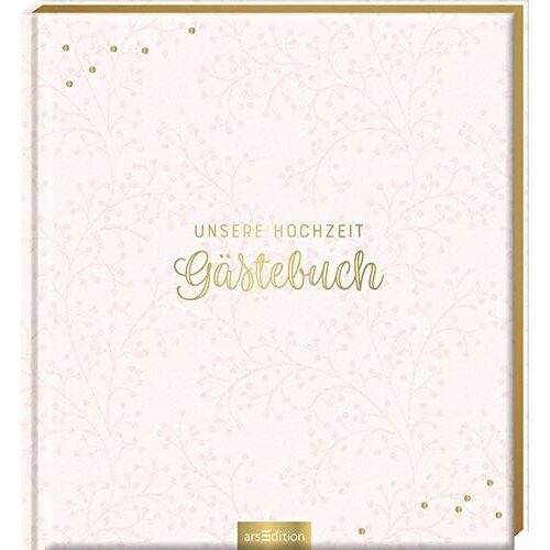 - Unsere Hochzeit - Gästebuch (blanko): Das perfekte Geschenk zur Hochzeit - Preis vom 27.03.2020 05:56:34 h