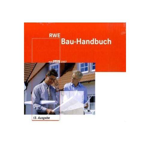 RWE - RWE Energie Bau-Handbuch. Inkl. CD-ROM und Beiheft. Praxiswissen für Ihr Bauprojekt RWE Bau-Handbuch Die Energieeinsparverordnung (EnEV) - Preis vom 08.05.2021 04:52:27 h
