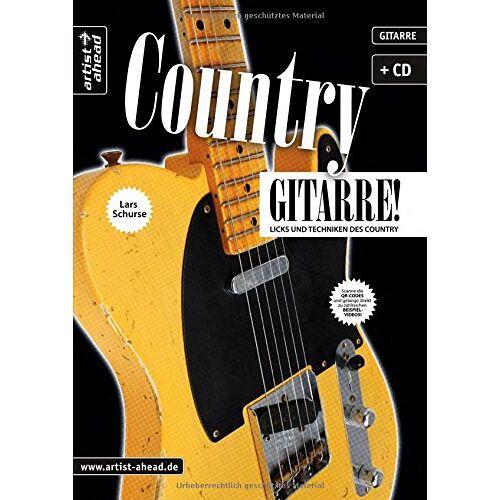 Lars Schurse - Country-Gitarre: Licks und Techniken des Country (inkl. Audio-CD). Musiknoten für E-Gitarre. - Preis vom 25.02.2020 06:03:23 h