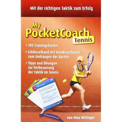 Nina Nittinger - My-Pocket-Coach Tennis: Tipps und Übungen zur Verbesserung der Taktik im Tennis - Preis vom 17.02.2020 06:01:42 h