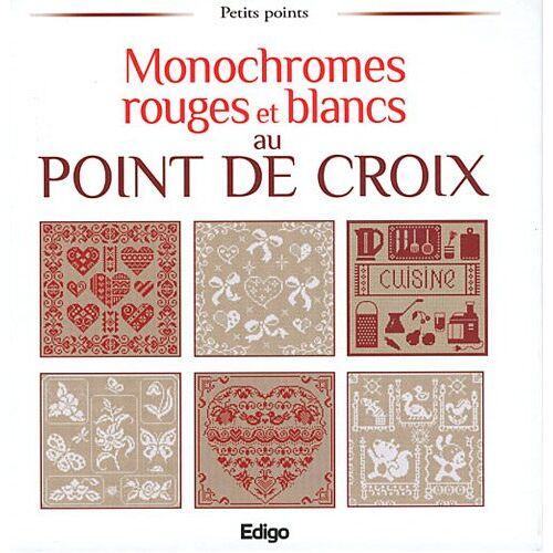 Brigitte Roquemont - Monochromes rouges et blancs au point de croix - Preis vom 15.05.2021 04:43:31 h