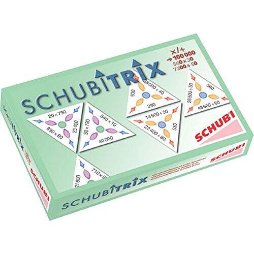 - SCHUBITRIX Mathematik - Multiplikation und Division mit großen Zehnerzahlen - Preis vom 08.05.2021 04:52:27 h