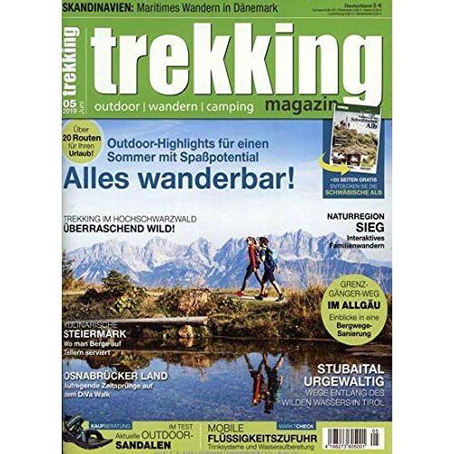 Trekking Magazin - Trekking Magazin 5/2019 - Preis vom 07.05.2021 04:52:30 h