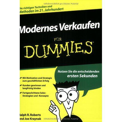 Roberts, Ralph R. - Modernes Verkaufen für Dummies - Preis vom 11.05.2021 04:49:30 h