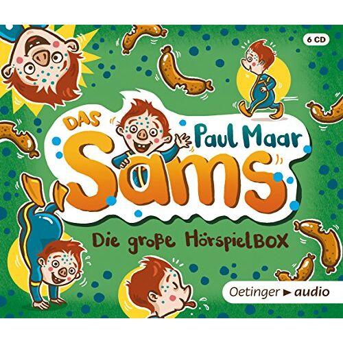 Paul Maar - Das Sams. Die große Sams Hörspielbox (6 CD): Hörspiele, 314 Min. - Preis vom 21.02.2020 06:03:45 h