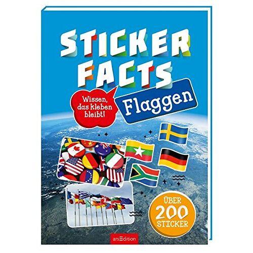 Miriam Scholz - Stickerfacts Flaggen: Mit über 200 Stickern - Preis vom 04.09.2020 04:54:27 h
