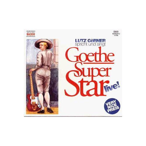 Goethe, Johann W. von - Goethe Super Star live, 5 Audio-CDs - Preis vom 03.05.2021 04:57:00 h