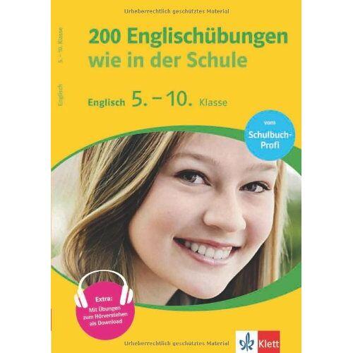 - 200 Englischübungen wie in der Schule. 5.-10. Klasse - Preis vom 03.09.2020 04:54:11 h