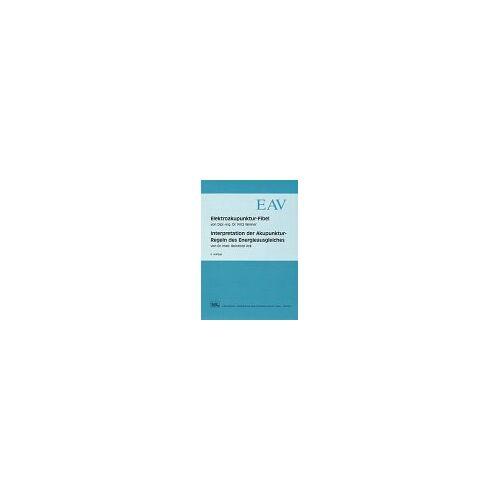 Fritz Werner - Elektroakupunktur-Fibel - Preis vom 05.09.2020 04:49:05 h
