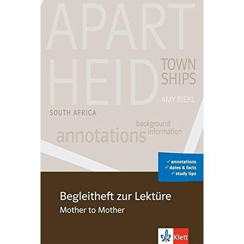 Vera Kowalewski - Begleitheft zur Lektüre Mother to Mother - Preis vom 25.02.2021 06:08:03 h