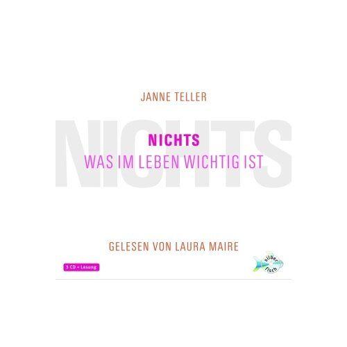 Janne Teller - Nichts. Was im Leben wichtig ist: 3 CDs - Preis vom 10.05.2021 04:48:42 h
