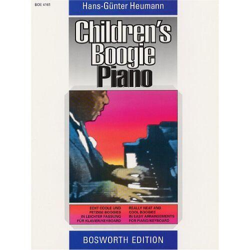 Hans-Günter Heumann - Childrens Boogie Piano: Echt coole und fetzige Boogies in leichter Fassung für Klavier/Keyboard - Preis vom 21.10.2020 04:49:09 h