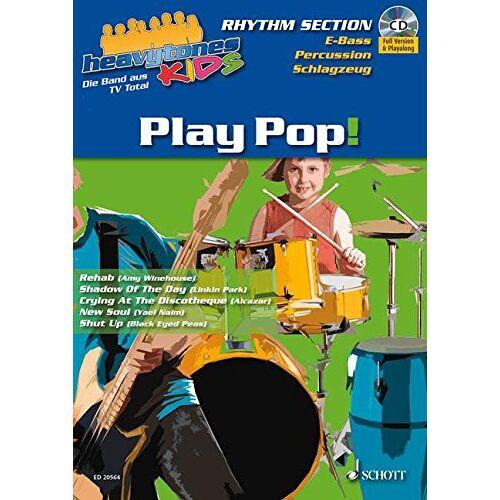 Norman Heavytones Kids: Play Pop!: die freshe Playalong-Serie. Band 1. E-Bass / Schlagzeug / Percussion. Ausgabe mit CD. - Preis vom 16.01.2021 06:04:45 h