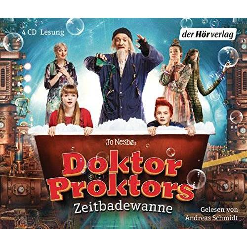 Jo Nesbo - Doktor Proktors Zeitbadewanne (Die Doktor-Proktor-Lesungen, Band 2) - Preis vom 08.05.2021 04:52:27 h