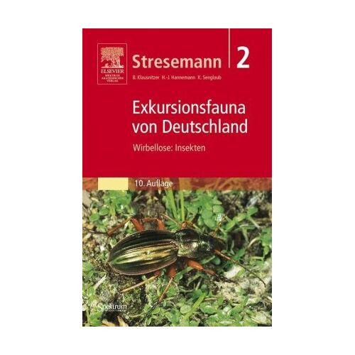 Stresemann - Stresemann: Exkursionsfauna von Deutschland (Gesamtwerk): Stresemann - Exkursionsfauna von Deutschland. Band 2: Wirbellose: Insekten: Bd. 2 - Preis vom 06.09.2020 04:54:28 h