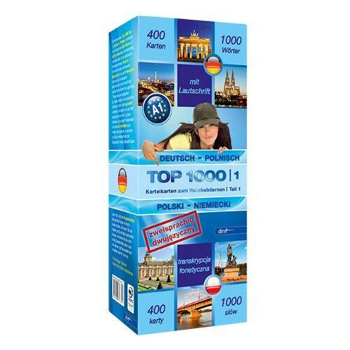 dnf-Verlag GmbH - Top 1000 Teil 1: Deutsch-Polnisch /Polnisch-Deutsch - Preis vom 07.03.2021 06:00:26 h