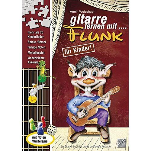 Armin Weisshaar - Gitarre lernen mit Flunk / Mit CD: Die coole Gitarrenschule mit Spaß! - Preis vom 26.02.2020 06:02:12 h
