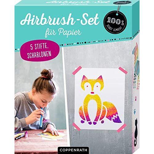 - Airbrush-Set für Papier (100% selbst gemacht) - Preis vom 05.09.2020 04:49:05 h