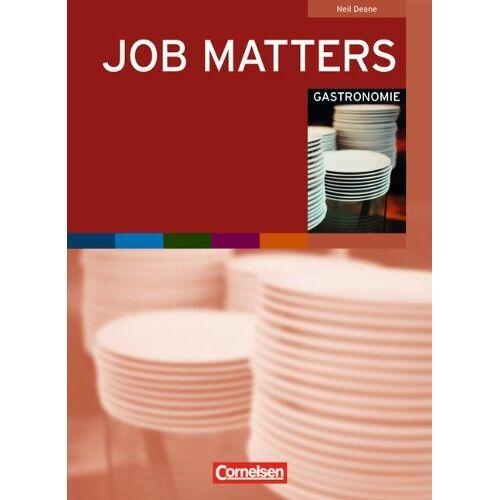 Neil Deane - Job Matters: A2 - Gastronomie: Arbeitsheft - Preis vom 12.04.2021 04:50:28 h