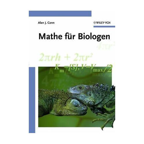 Cann, Alan J. - Mathe für Biologen - Preis vom 14.05.2021 04:51:20 h