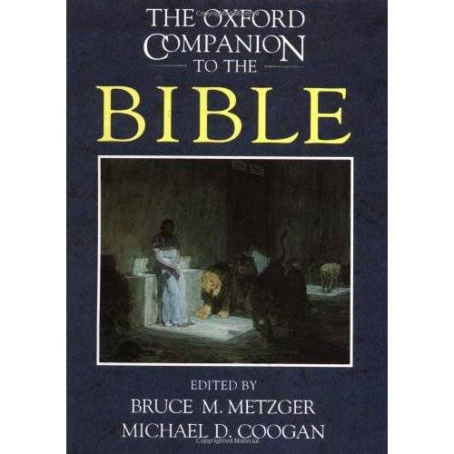 Bruce Metzger - Oxford Companion to the Bible (Oxford Companions) - Preis vom 26.02.2021 06:01:53 h
