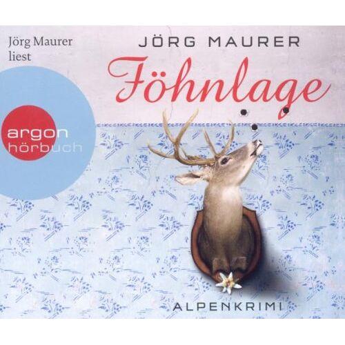 Jörg Maurer - Föhnlage (Hörbestseller) - Preis vom 20.10.2020 04:55:35 h