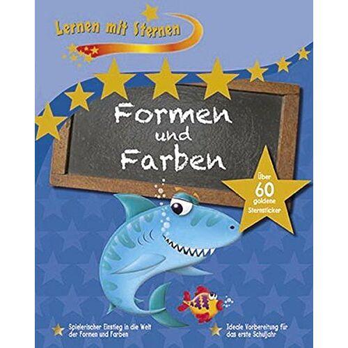 Parragon GmbH - Lernen mit Sternen - Formen und Farben: Spielerischer Einstieg in die Welt der Formen und Farben - Preis vom 01.03.2021 06:00:22 h