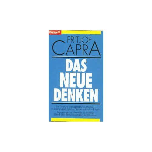 Fritjof Capra - Das neue Denken - Preis vom 20.10.2020 04:55:35 h