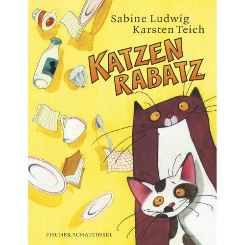 Sabine Ludwig - Katzenrabatz - Preis vom 05.09.2020 04:49:05 h