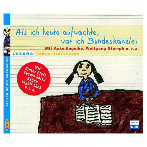 Hella von Sinnen - Als ich aufwachte, war ich Bundeskanzler. CD: Prominente lesen für Unicef - Preis vom 18.04.2021 04:52:10 h