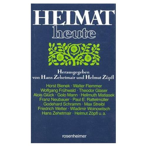 Hans Zehetmair - Heimat heute - Preis vom 21.10.2020 04:49:09 h